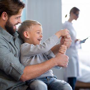 EXAME DE DNA – (Teste de paternidade) DUO – pai e filho(a)