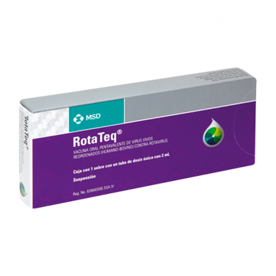 Rotavirus pentavalente - Rotateq - MSD