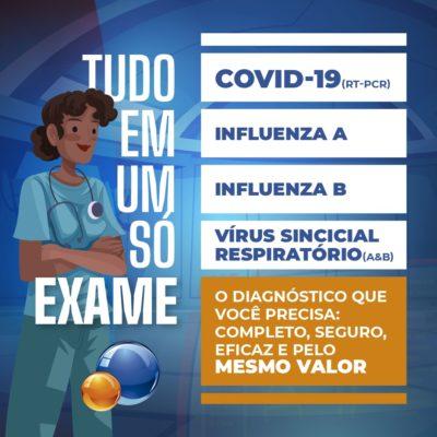 PAINEL RESPIRATÓRIO 4X1 - COM PCR COVID